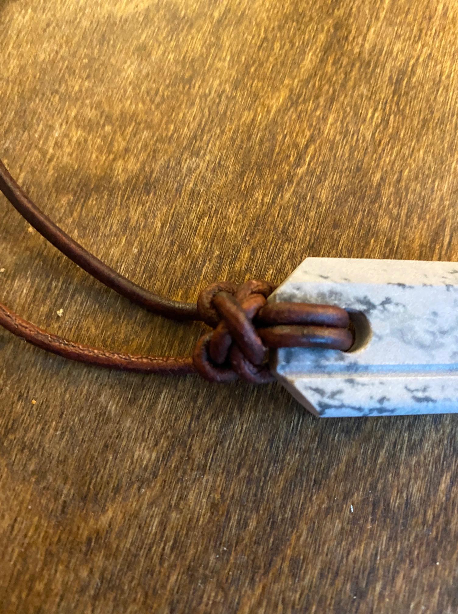 Wazoo Survival Gear--Viking Whetstone Pendant